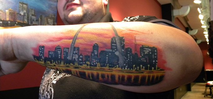Self inflicted studio downtown stl for Tattoos st louis