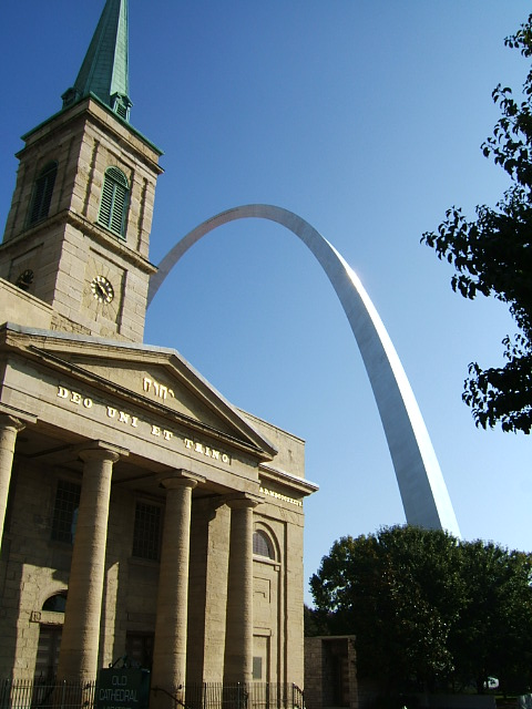 Arch & Old Cathedral