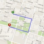 labor day parade route
