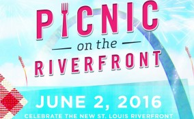 picnic on the riverfront