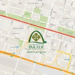 st. patrick parade route