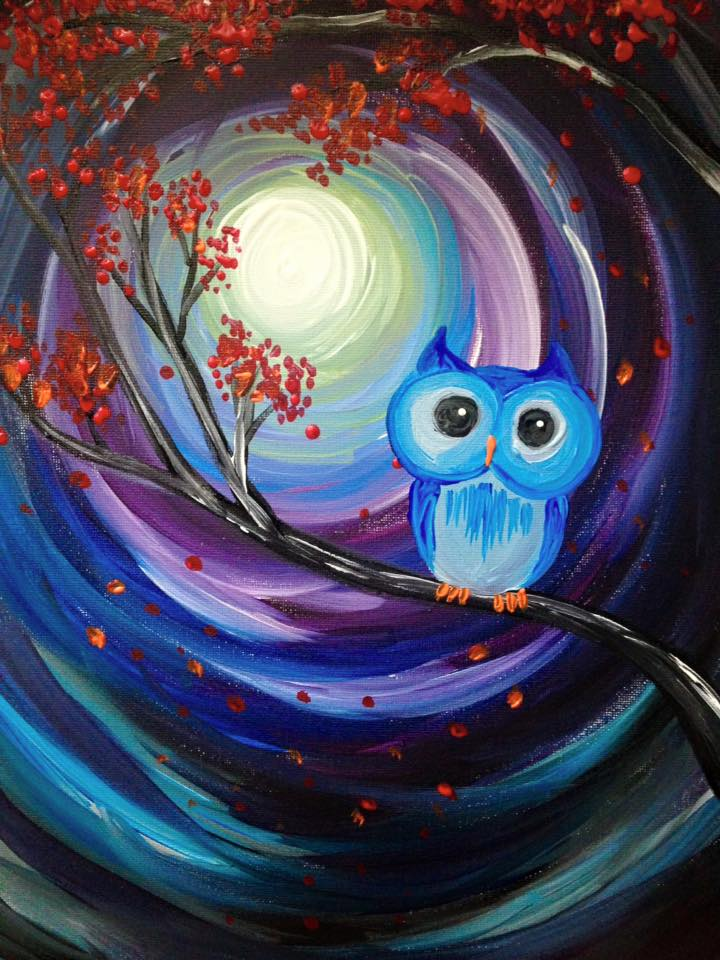 Paint nite downtown stl for Wine and paint st louis