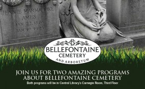 Bellefontaine July and August 2018 programs sign